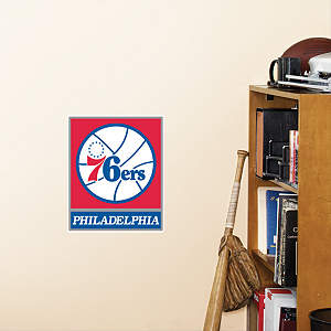 Philadelphia 76ers Teammate Fathead Decal